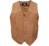 AllState Leathers- Brown Vest