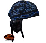 Hot Leathers New Fire Bike Headwrap