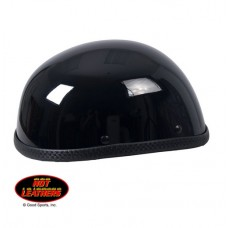 Hot Leather Eagle Style Shiny Novelty Helmet