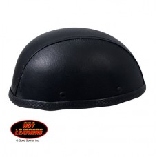 Hot Leathers Turtle Style Leather Covered Helmet