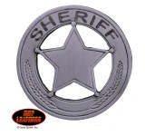 Hot Leathers Badge Pin