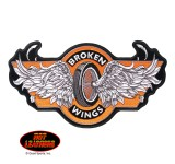 Hot Leathers Broken Wings Patch