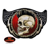 Hot Leathers Punk Skull Patch