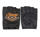 Hot Leathers Official Sturgis Motorcycle Rally Fingerless Gloves