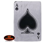 Hot Leathers Ace of Spades Pin