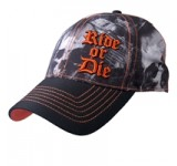 Hot Leathers Distressed Motor Ball Cap