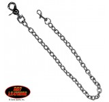 Hot Leathers Metal Clip Wallet Chain