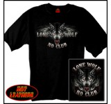 Hot Leathers Lone Wolf Double Sided Biker Shirt