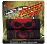 Hot Leathers Ghost Skull Throttle Art™ by