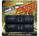Hot Leathers Lone Wolf Throttle Art