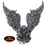 Hot Leathers Tribal Eagle Pin