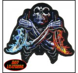 Hot Leathers Fire Daggers Patch (small)