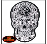 Hot Leathers Sugar Skull Patch (Small)