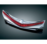 Kuryakyn Chrome L.E.D. Rear Fender Tip with Red Lenses
