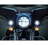 Kuryakyn Skinni Mini L.E.D Strip Lights - White (pr)