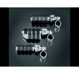"Kuryakyn Dually ISO-Pegs with Clevis & 1-1/4"" Magnum Quick Clamp (pr)"