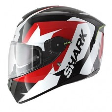Shark Helmet SKWAL STICKING Black white red