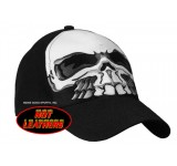 Hot Leathers Full Skull Ball Cap