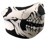 Hot Leathers Neoprene Skull Half Mask